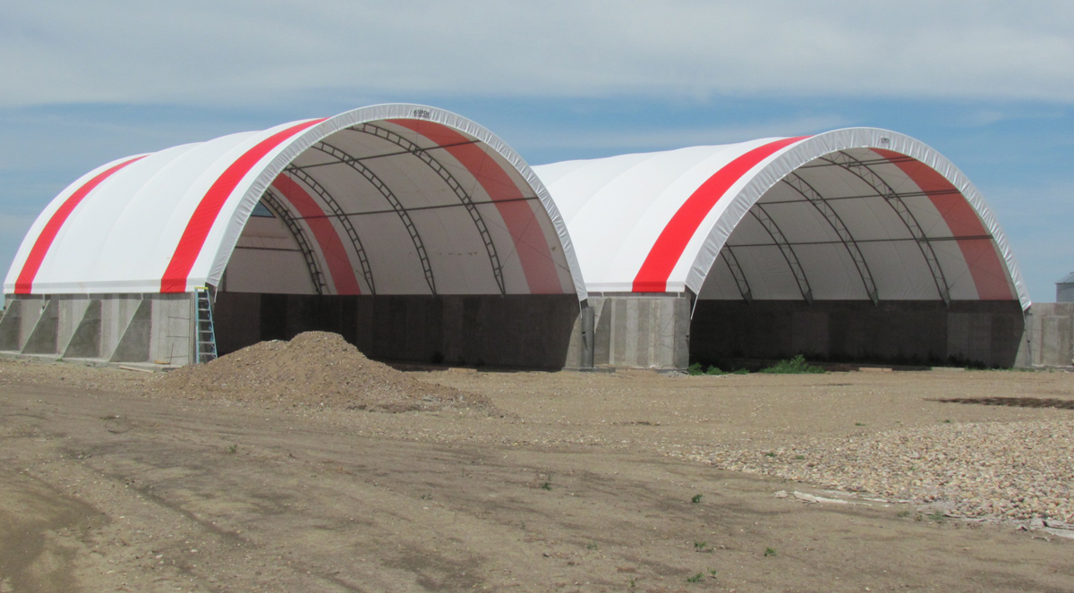 Rush-Co Covers | Rushmore Buildings - Commodity, Equipment Storage