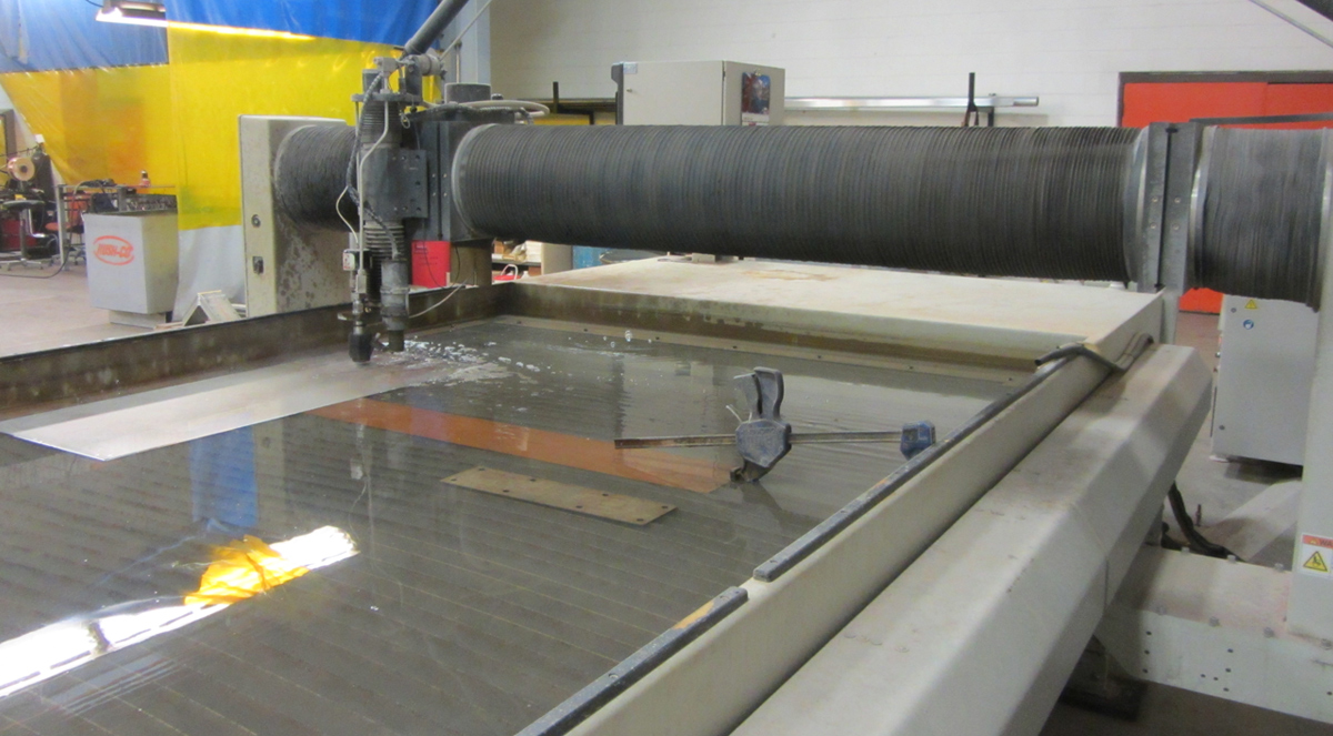 Rush-Co Tailored Covers | Custom Waterjet Cutting Services